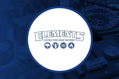 Papel para fumar Elements