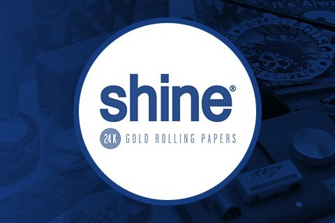 Shine. Papel de oro para fumar