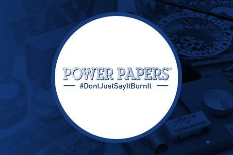 Powers Papers. Papel de liar imitación dinero